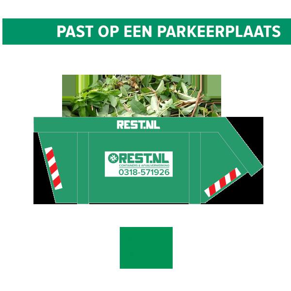 10m3 groenafval container