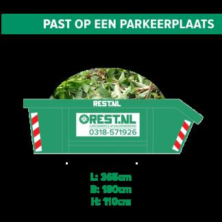 6m3 groenafval container