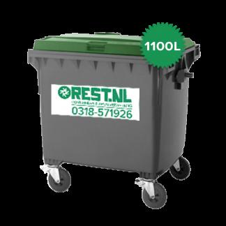 1100 liter kunststof rolcontainer