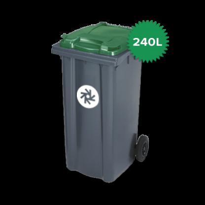 240 liter kunststof rolcontainer