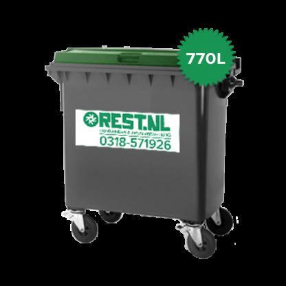 770 liter kunststof rolcontainer