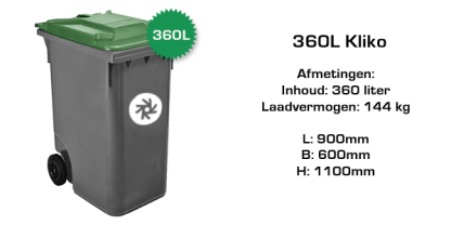 360 liter rolcontainer