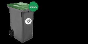 rolcontainer 360 liter