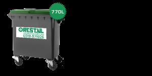 rolcontainer 770 liter